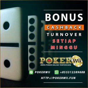 bonus cashback turnover poker